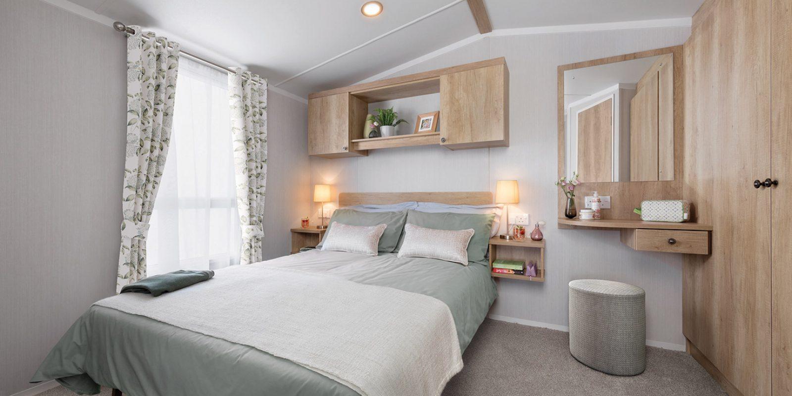 Burgundy Master Bedroom